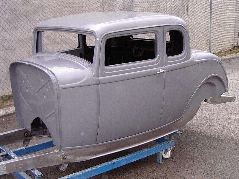 Fibreglass Hot Rod Body
