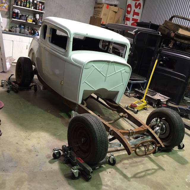 Kit Cars To Build Yourself In Usa: Fibreglass Hot Rod Body